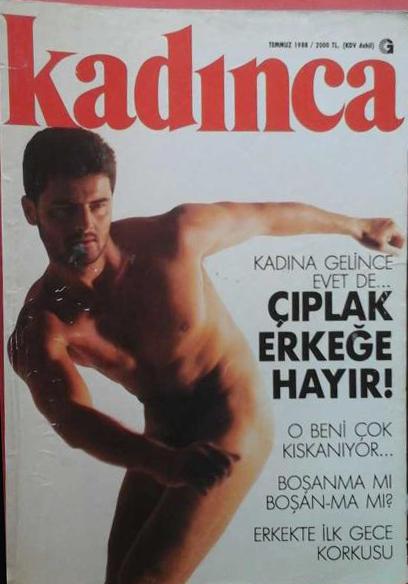 Kadınca dergisi kapak