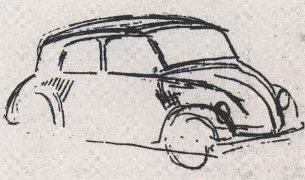 Adolf hitler araba tasarımı volswagen