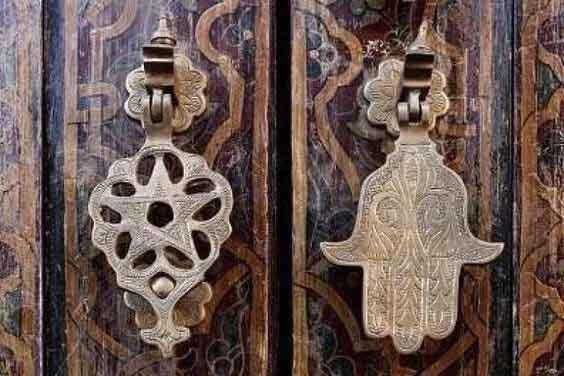 Eski kapı tokmakları