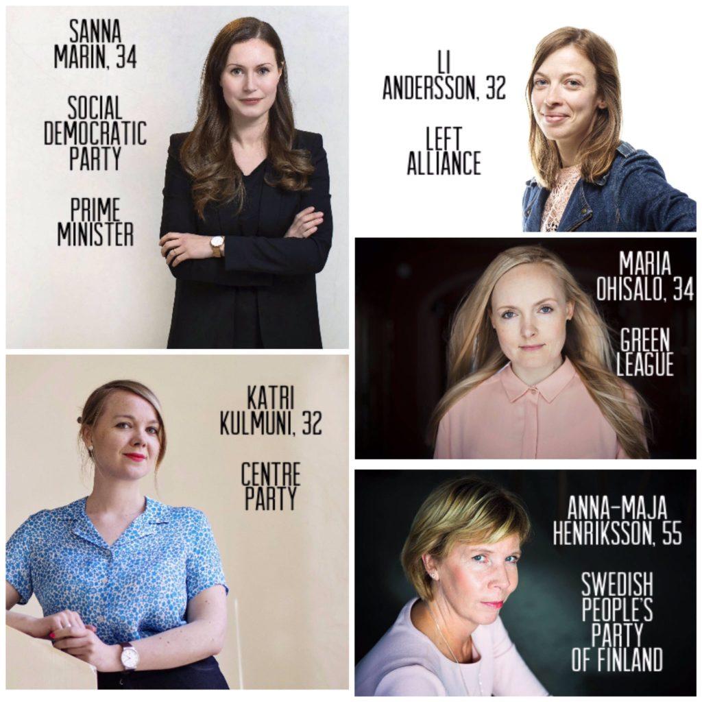 finlandiya kadın liderler
