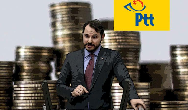 PTT Türkiye Varlık Fonu'na Devredildikten sonra 900 Milyon Lira Zarar Etti