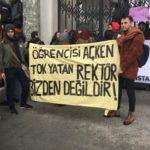 İstanbul İstanbul Üniversitesi yemekhane eylem