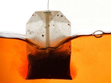 Plastik poşet çay