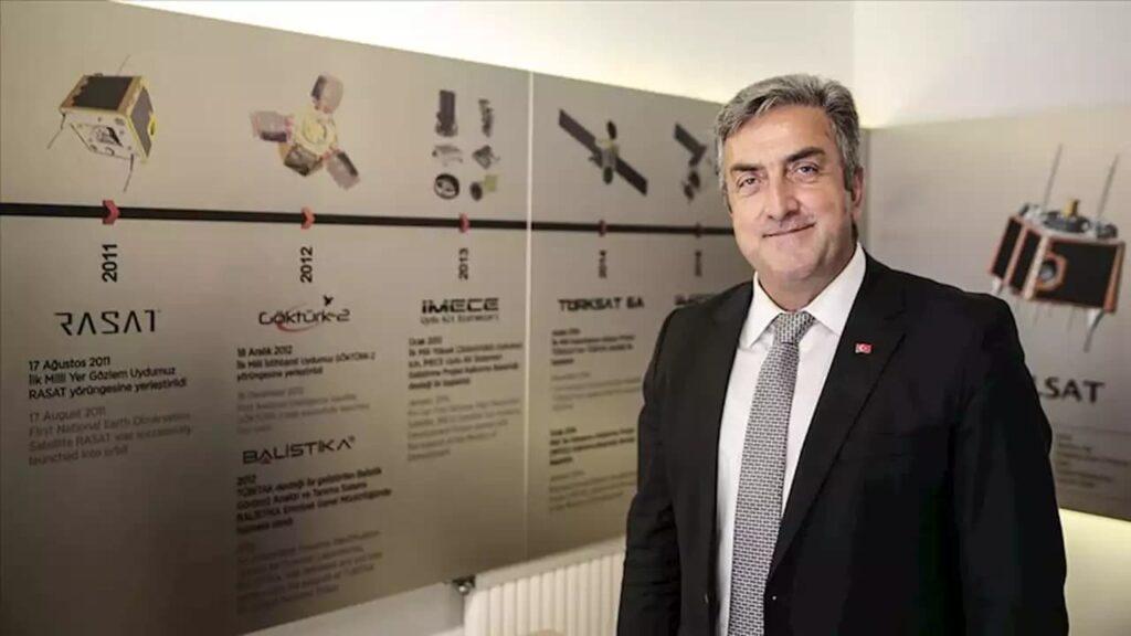 Türkiye uzay ajansı başkanı serdar hüseyin yıldırm
