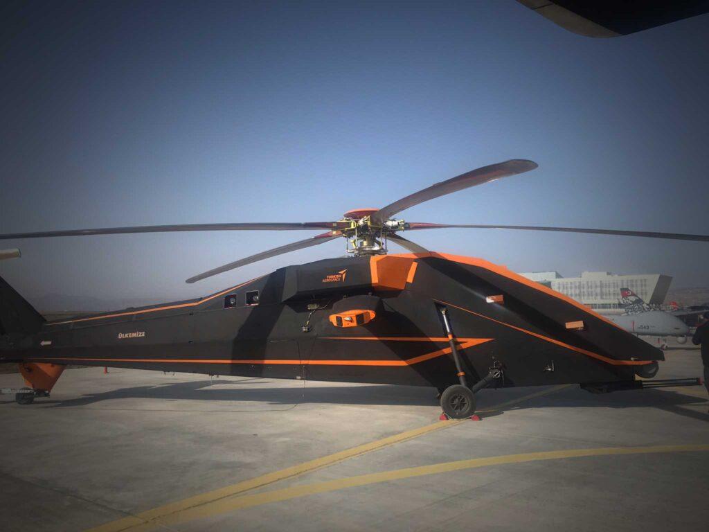 T-629 elektrikli insansız helikopter